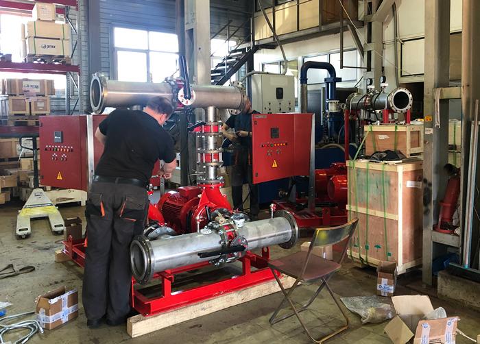 Применение и особенности пожарных насосов