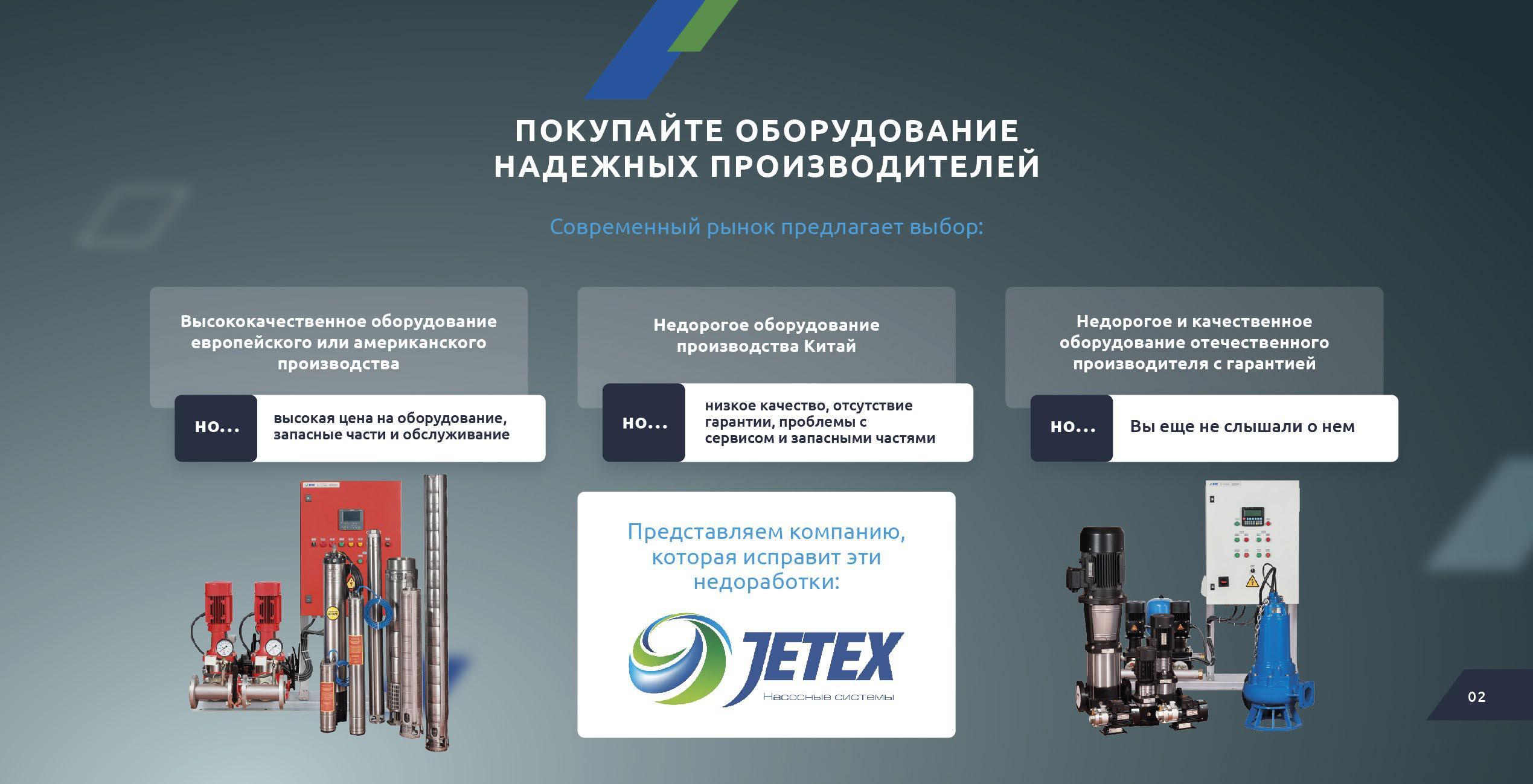 Промышленные насосы Jetex