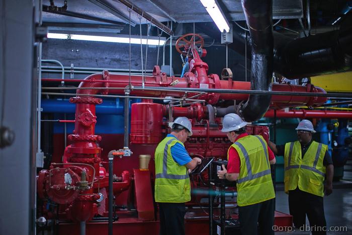 насосные станции водяного пожаротушения установка