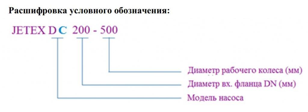 характеристики насос jetex dc